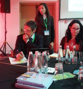 Dr. Eleni Athanasopoulou is presenting SMURBS in the 21st European Forum on Eco-Innovation