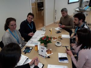 Disasters table discussion, 1st Stakeholder workshop on User Needs,
