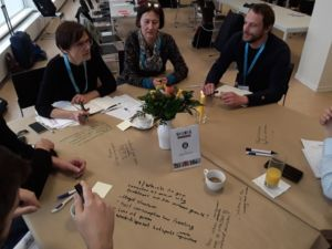 Urban growth table discussion,1st Stakeholder workshop on User Needs