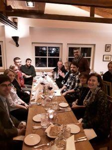 Social Dinner, 1st Stakeholder workshop on User Needs
