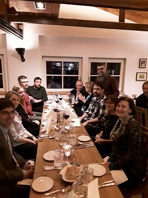 Social Dinner, 1st Stakeholder workshop on User Needs