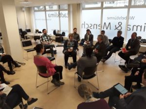 Fishbowl discussion, 1st Stakeholder workshop on User Needs