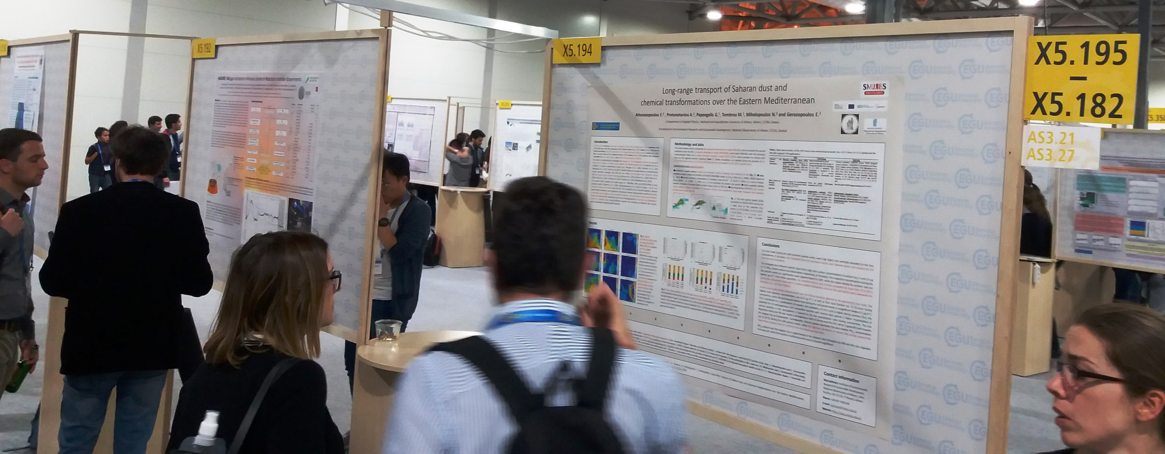 SMURBS poster at EGU2018